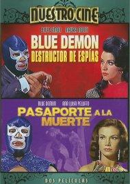 Blue Demon Destructor De Espias / Blue Demon En Pasaporte A La Muerte (Double Feature)