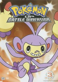 Pokemon: Diamond And Pearl Battle Dimension - Volume 3