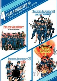4 Film Favorites: Police Academy 1 - 4
