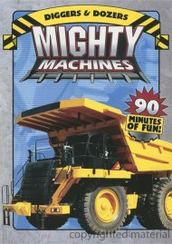 Mighty Machines: Diggers & Dozers / Big Wheels Rollin (2 Pack)