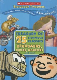 Scholastic Treasury Of 25 Storybook Classics, The: Dinosaurs, Trucks, Monsters ...And More!
