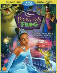 Princess And The Frog, The (Blu-ray + DVD + Digital Copy)