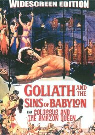 Goliath And The Sins Of Babylon / Colossus And The Amazon Queen (Double Feature)