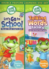 Leap Frog: Lets Go To School / Talking Words Factory (Double Feature)