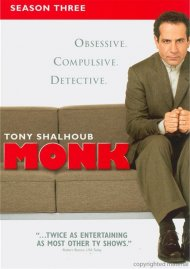 Monk: Season Three (Repackaged)