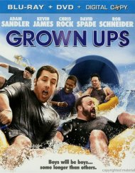 Grown Ups (Blu-ray + DVD Combo)