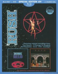 Classic Albums: Rush - 2112 & Moving Pictures (Blu-ray + DVD + CD Combo Deluxe Edition)