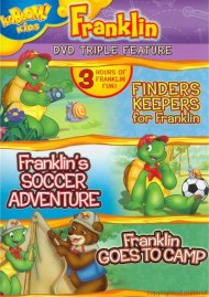 Finders Keepers For Franklin / Frankins Soccer Adventure / Franklin Goes To Camp (Triple Feature)