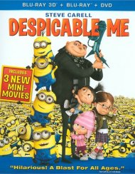 Despicable Me 3D (Blu-ray 3D + Blu-ray + DVD + Digital Copy)