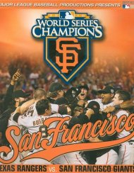 2010 World Series: The Official MLB Release (Blu-ray + DVD Combo)