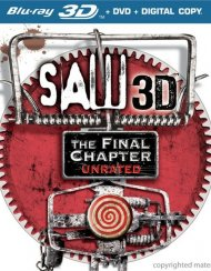 Saw 3D: The Final Chapter - Unrated (Blu-ray 3D + DVD + Digital Copy)