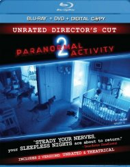 Paranormal Activity 2: Unrated Directors Cut (Blu-ray + DVD + Digital Copy)