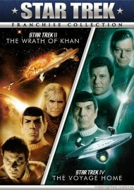 Star Trek II: The Wrath Of Khan / Star Trek IV: The Voyage Home (Double Feature)