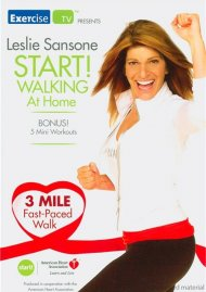 Leslie Sansone: Start! Walking At Home - 3 Mile Fast-Paced Walk