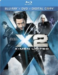 X2: X-Men United (Blu-ray + DVD + Digital Copy)