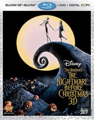 Nightmare Before Christmas 3D, The (Blu-ray 3D + Blu-ray + DVD + Digital Copy)