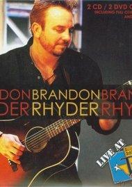 Brandon Rhyder: Live At Billy Bobs Texas (DVD + CD Combo)
