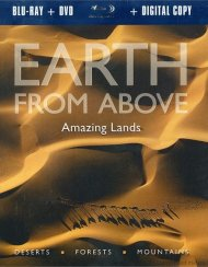 Earth From Above: Amazing Lands (Blu-ray + DVD + Digital Copy)