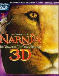 Chronicles Of Narnia, The: The Voyage Of The Dawn Treader 3D (Blu-ray 3D + Blu-ray + DVD + Digital Copy)