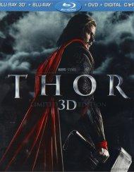 Thor: Limited 3D Edition (Blu-ray 3D + Blu-ray + DVD + Digital Copy)