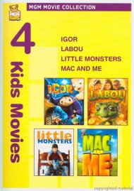 Igor / Labou / Little Monsters / Mac And Me (4 Kids Movies)