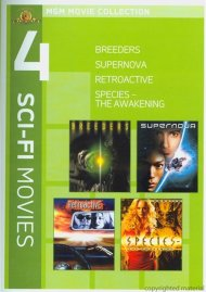 Breeders / Supernova / Retroactive / Species: The Awakening (4 Sci-Fi Movies)