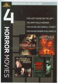 Amityville Horror, The / The House On Carroll Street / The House Where Evil Dwells / The Last House On The Left: Unrated (4 Horror Movies)