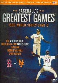 Baseballs Greatest Games: 1986 World Series Game 6