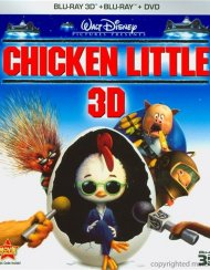 Chicken Little 3D (Blu-ray 3D + Blu-ray + DVD)