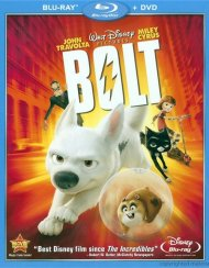 Bolt (Blu-ray + DVD Combo)