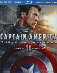 Captain America: The First Avenger 3D (Blu-ray 3D + Blu-ray + DVD + Digital Copy)