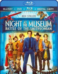 Night At The Museum: Battle Of The Smithsonian (Blu-ray + DVD + Digital Copy)