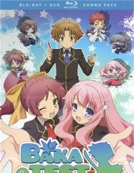 Baka And Test: Summon The Beasts - Alternative Art (Blu-ray + DVD Combo)
