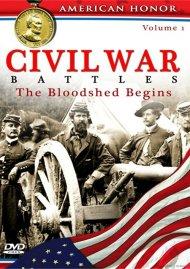 Civil War Battles: The Bloodshed Begins - Volume 1