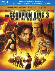 Scorpion King 3, The: Battle for Redemption (Blu-ray + DVD + Digital Copy)