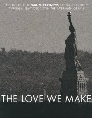 Paul McCartney: The Love We Make