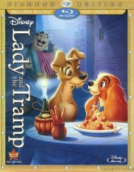 Lady And The Tramp: Diamond Edition (Blu-ray + DVD + Digital Copy)