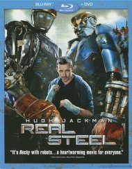 Real Steel (Blu-ray + DVD Combo)
