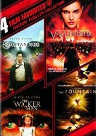 4 Film Favorites: Fantasy Thrillers Collection