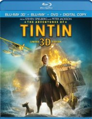 Adventures Of Tintin 3D, The (Blu-ray 3D + Blu-ray + DVD+ Digital Copy)