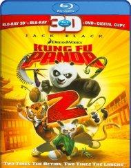 Kung Fu Panda 2 3D (Blu-ray 3D + Blu-ray + DVD + Digital Copy)