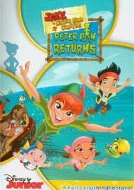Jake And The Never Land Pirates: Peter Pan Returns (DVD + Digital Copy Combo)