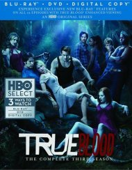 True Blood: The Complete Third Season (Blu-ray + DVD + Digital Copy)
