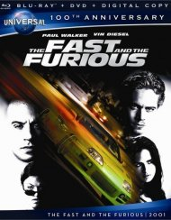Fast And The Furious, The (Blu-ray + DVD + Digital Copy)
