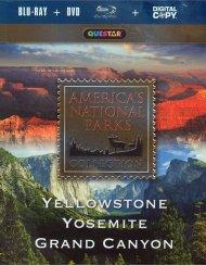 Americas National Parks: Yellowstone, Yosemite, Grand Canyon (Blu-ray + DVD + Digital Copy)