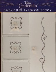 Cinderella: 6 Disc Trilogy Gift Set (Limited Edition Collectible Jewelry Box Packaging)