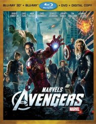 Avengers 3D, The (Blu-ray 3D + Blu-ray + DVD + Digital Copy)