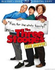Three Stooges, The (Blu-ray + DVD + Digital Copy)