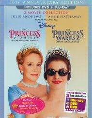 Princess Diaries, The: 10th Anniversary Edition - 2 Movie Collection (DVD + Blu-ray Combo)