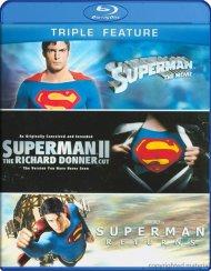 Superman: The Movie / Superman II: The Richard Donner Cut / Superman Returns (Triple Feature)
